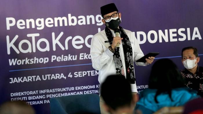 Workshop Inovasi dan Kewirausahaan Kabupaten Kota Kabupaten Kota (KaTa) Kreatif digelar di Jakarta. Program ini menyasar pelaku UMKM sektor pariwisata dan ekonomi kreatif.