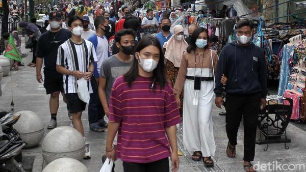 Ketua Harian Gugus Tugas Penanganan Covid-19 Kota Yogyakarta, Heroe Poerwadi membenarkan peningkatan geliat aktivitas di Malioboro itu.