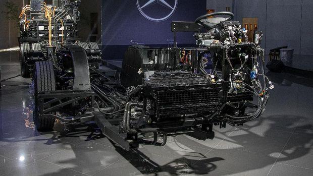 Bus listrik Mercedes-Benz diperkenalkan di Brasil