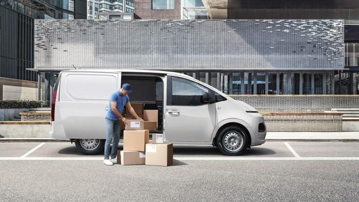 Hyundai Staria versi mobil angkutan barang
