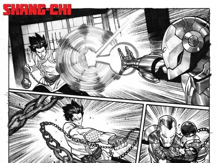 Komik Shang-Chi #4