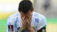 Foto: Wajah Frustrasi Lionel Messi