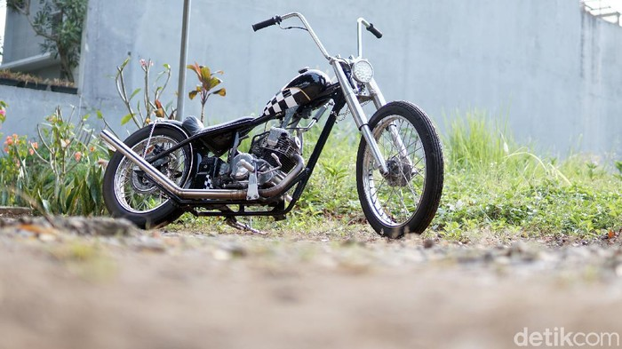 Modifikasi Yamaha Scorpio Chopper
