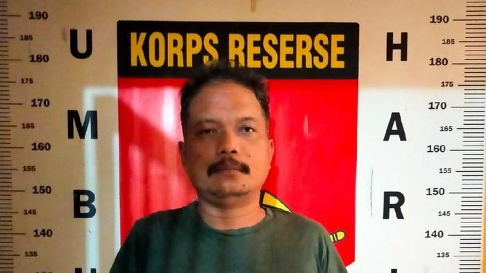 Mudiyono (42) alias Penyot pelaku penganiayaan terhadap wanita di kamar hotel di Umbulharjo