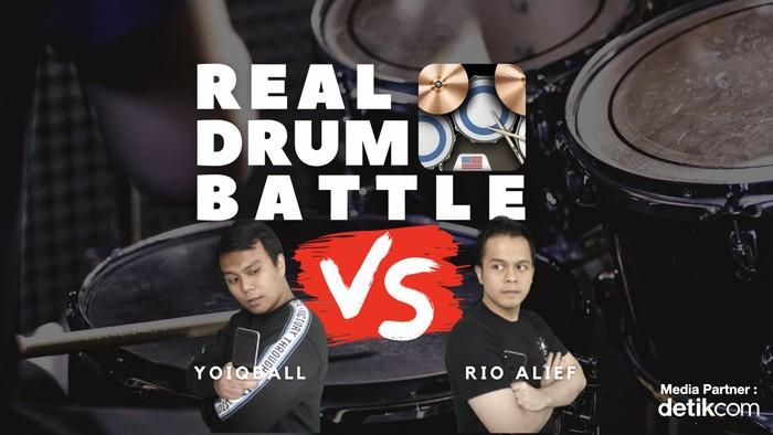 REAL DRUM Battle