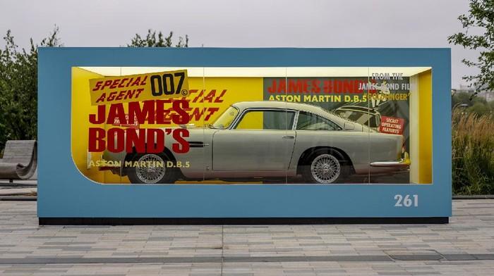 Replika Aston Martin DB5