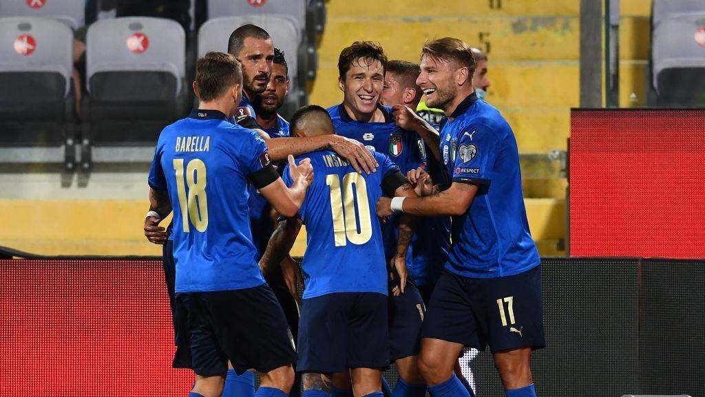 Italia Disebut Belum Lewati Rekor Tak Terkalahkan Brasil, Ini Faktanya