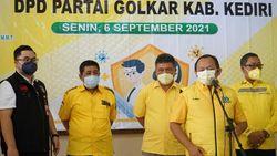 DPD Golkar Jawa Timur Gelar Vaksinasi di Kediri, Ini Kata Bupati
