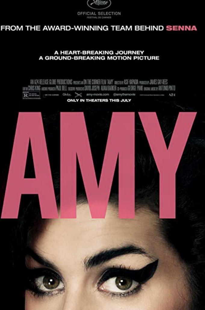 Film dokumenter bertajuk Amy yang bercerita tentang Amy Winehouse.