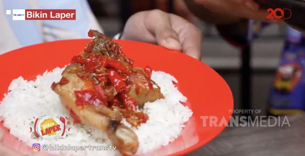 Bikin Laper! Ncess Nabati Cicip Patin Bakar Bambu dan Ayam Sambal Gami