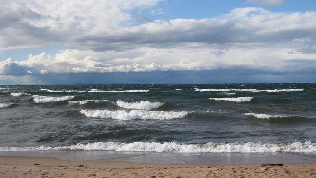 Danau air tawar tebesar di Amerika.