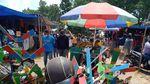 Geliat Pasar Terbesar di Klaten saat PPKM Level 3