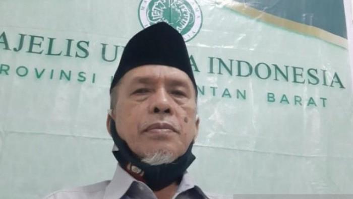 Ketua MUI Kalimantan Barat M Basri Har. (ANTARA/Dedi)