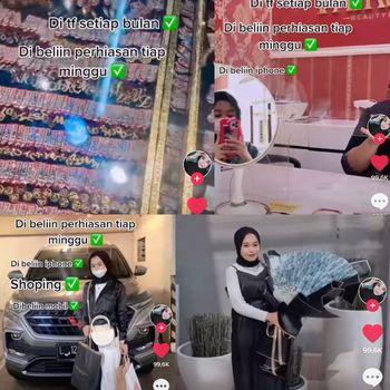 Kisah wanita yang viral di TikTok.