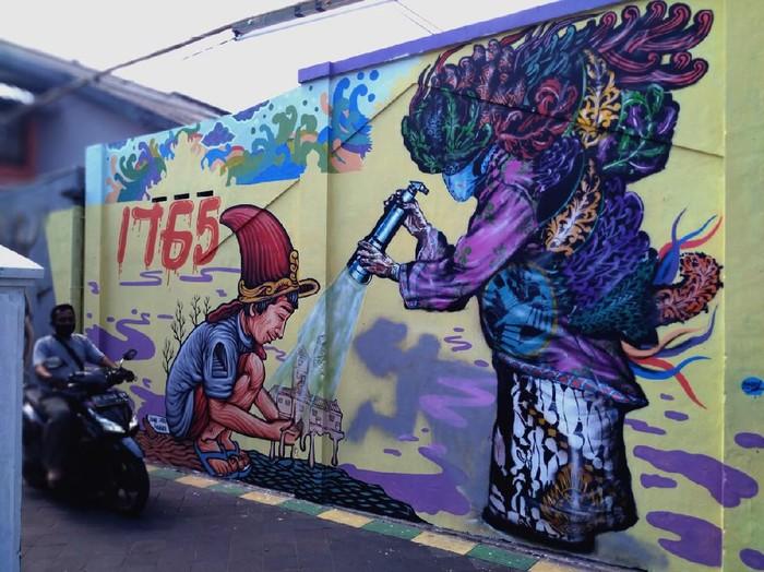 Mural di Yogyakarta Karya Yogya Street Art