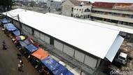 Bangunan Pasar Kambing Pascakebakaran Adalah Tempat Penampungan Sementara