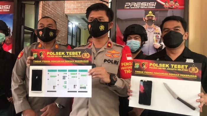 Polsek Tebet tangkap 5 ABG Pelaku Penodongan dan Perampasan (Faiz Iqbal Maulid/detikcom)