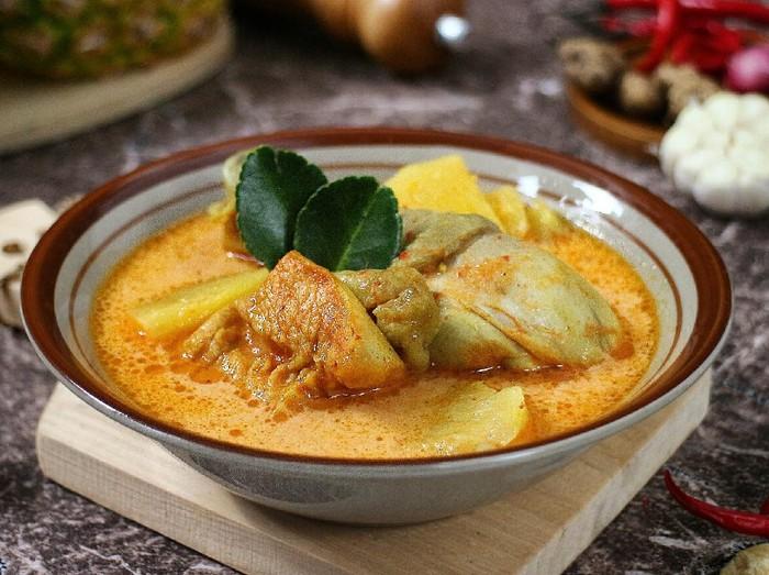 Resep Gulai Ayam Nanas