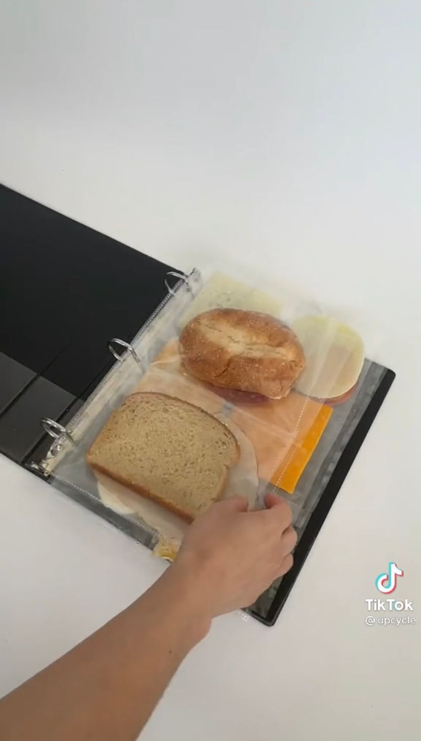 Simpan Makanan di Kulkas Pakai Map Kantor, Kulkas Bule Ini Jadi Viral