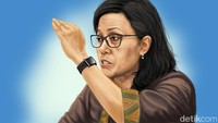 Sentilan Sri Mulyani Buat Pemda: Dari Dana Ngendap hingga Bansos Lelet