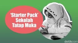 Starter Pack Sekolah Tatap Muka, Pelindung Si Kecil dari Corona