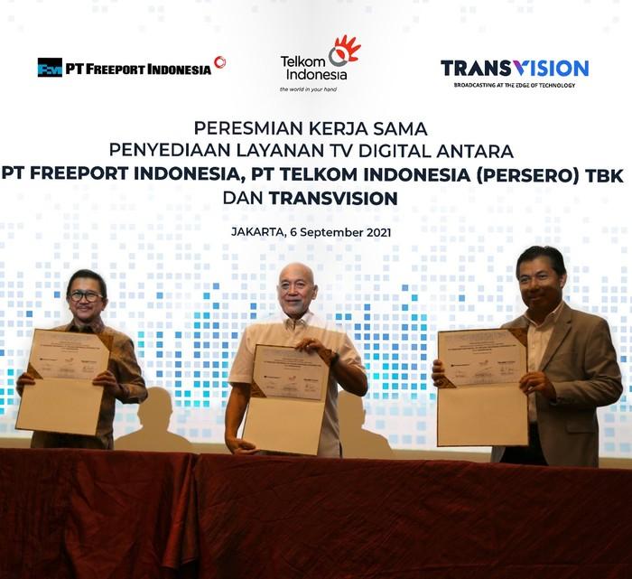 Transvision X Telkom Hadirkan Layanan TV Digital informatif dan Edukatif