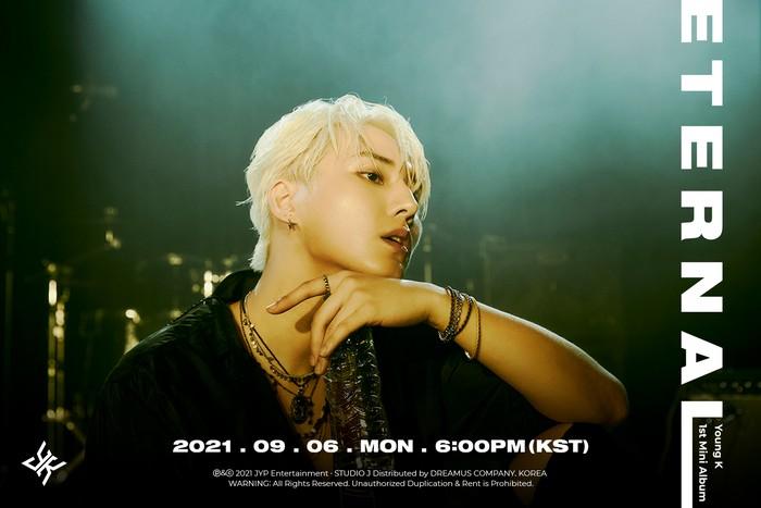 Young K debut solo dengan album Eternal.