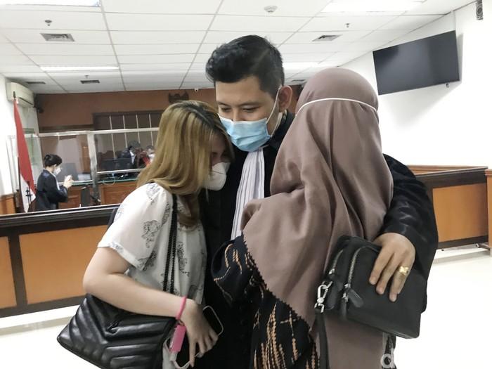Aisyah Aqilah saat ditemui di Pengadilan Negeri Jakarta Barat.