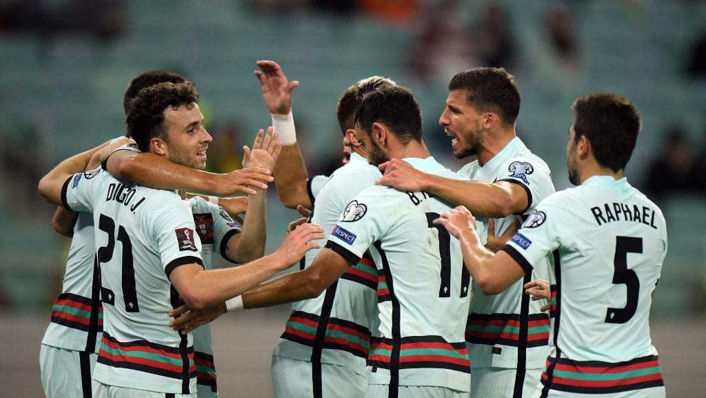 Azerbaijan Vs Portugal: Selecao Das Quinas Menang 3-0