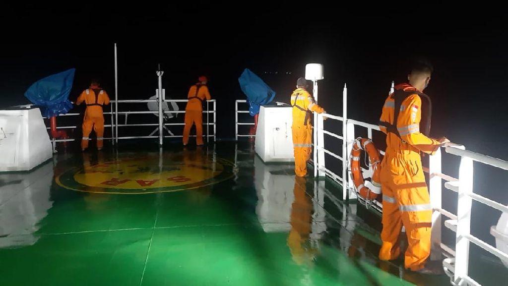 Kapal Mati Mesin di Perairan Banggai Sulteng, 8 ABK Hilang Kontak