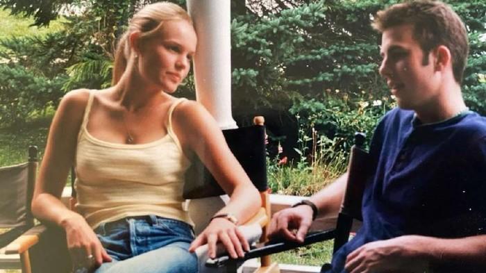 Penampilan Chris Evans dan Kate Bosworth di film the Newcomers.