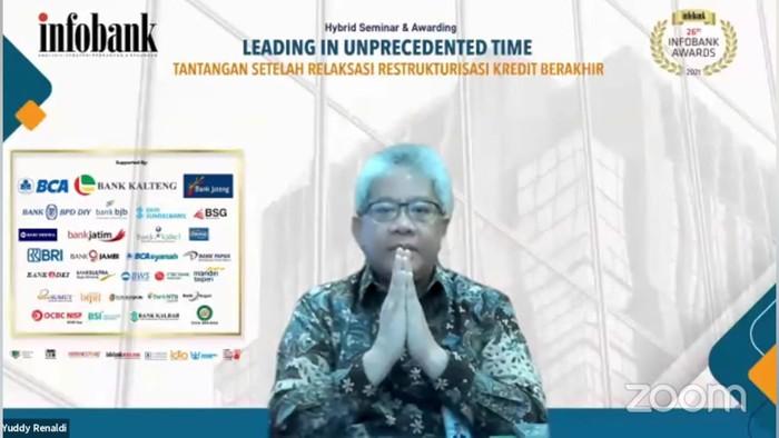 Direktur Utama bank bjb Yuddy Renaldi