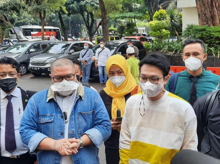dr Richard Lee kembali jalani pemeriksaan di kasus akses ilegal di Polda Metro Jaya, Rabu (8/9/2021)