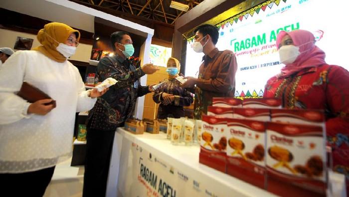 Kampanye Gerakan Nasional Bangga Buatan Indonesia (Gernas BBI) digelar di Banda Aceh. Berbagai pihak pun turut mendukung acara tersebut.