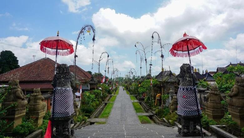Ilustrasi desa wisata