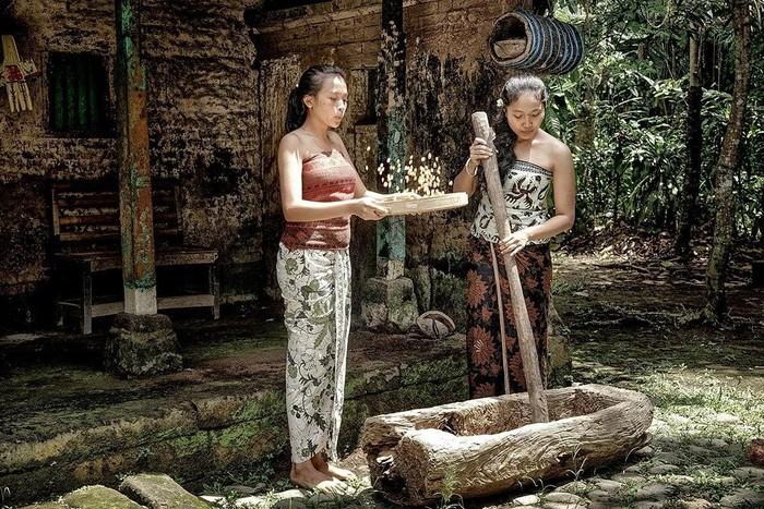 Ilustrasi kebudayaan Jawa.