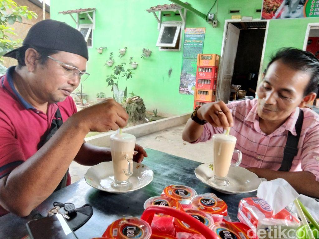 Jus Pinang Muda khas Asahan, Sumatera Utara