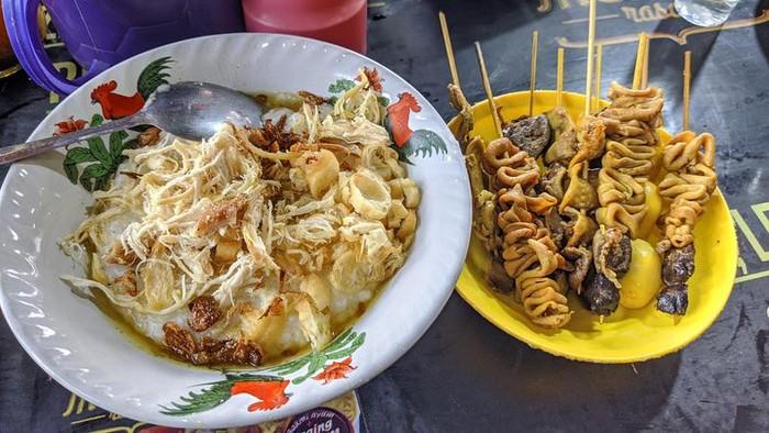 kawasan street food depok