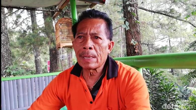 Koordinator Pedagang Puncak Bogor, Dadang Sukendar
