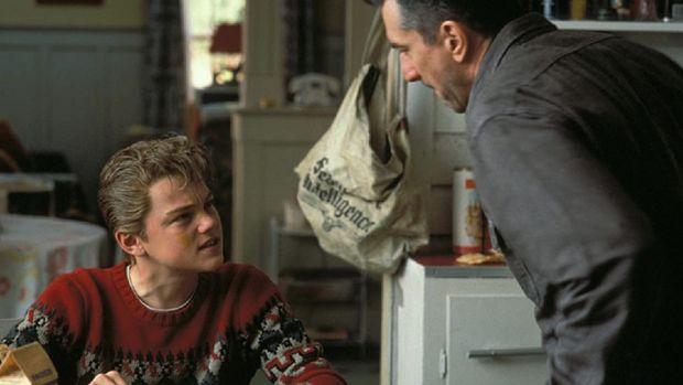 Penampilan Leonardo DiCaprio di film This Boy's Life bersama Robert De Niro pada 1993.