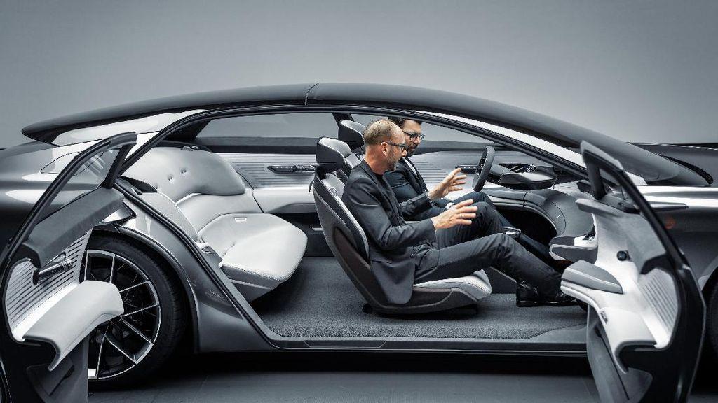 Audi Grandsphere, Kendaraan Darat Semewah Jet Pribadi