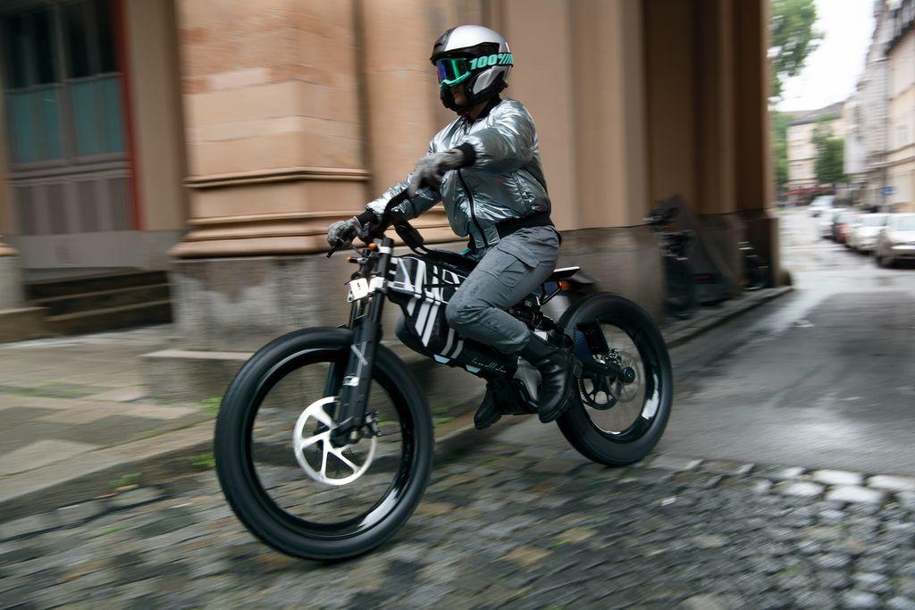 motor listrik BMW Motorrad Vision AMBY