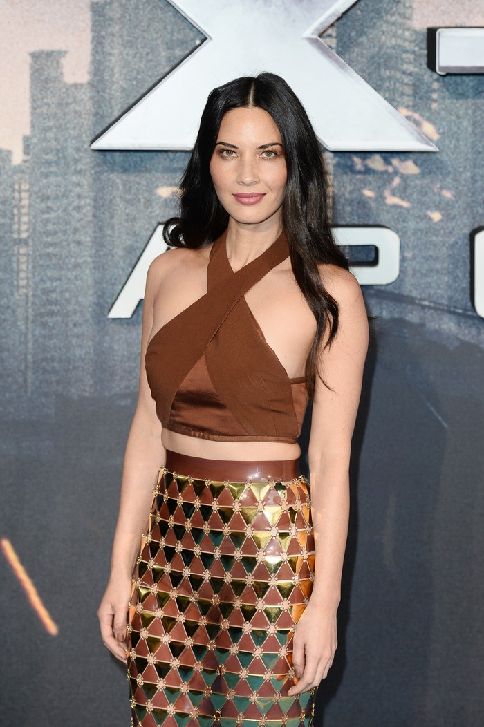 LONDON, ENGLAND - FEBRUARY 05:  Actress Olivia Munn attends the World Premiere of