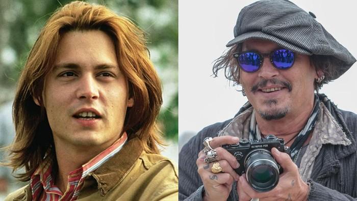 Penampilan aktor 90an dan sekarang.