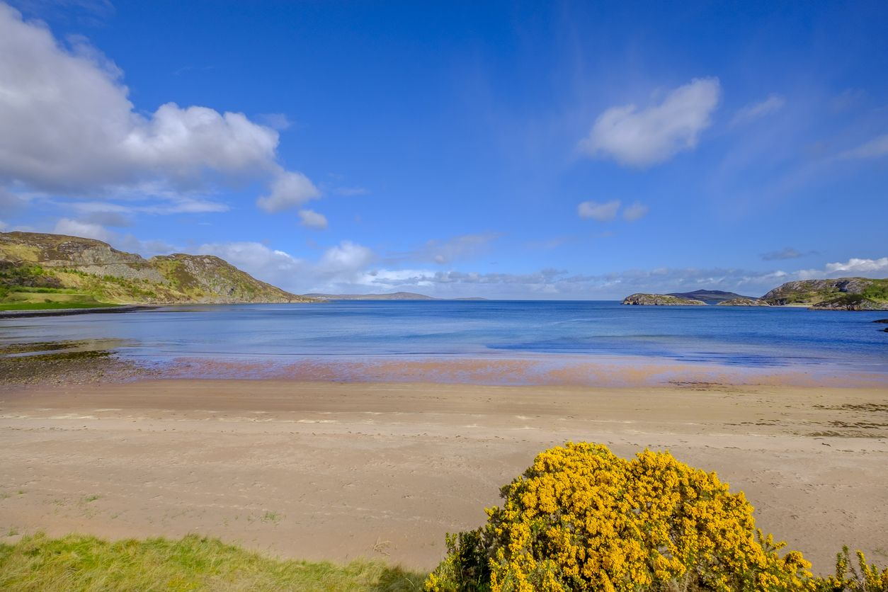 Pulau Gruinard di Skotlandia