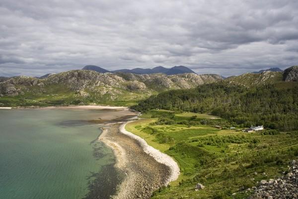 Meski sudah didekontaminasi, namun Pulau Gruinard masih tetap kosong dan sunyi seperti tak diinginkan. (Getty Images/iStockphoto)