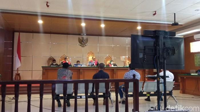 Sidang korupsi bansos KBB