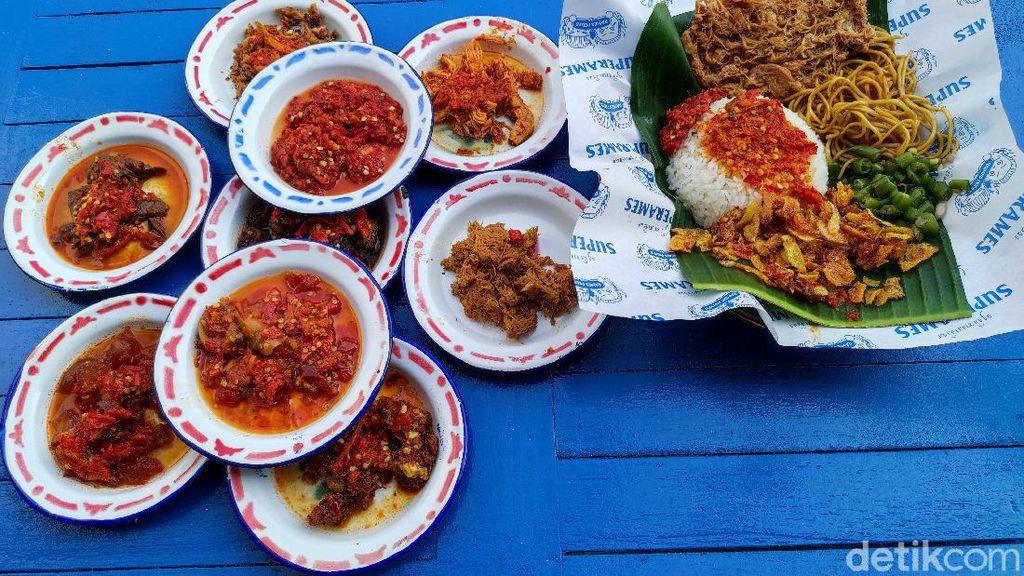 Syarat TTD untuk Makan Nasi Rames Terpedas di Dunia hingga Kontroversi Susu Kental Manis