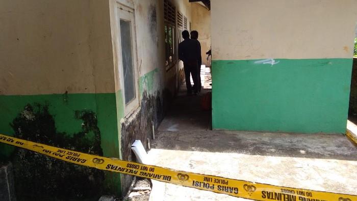 TKP sekolah tempat pencurian duit yang dilakukan 5 anak