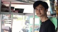 Ini Tukang Bakso Ganteng Viral Mirip Artis Korea, Bikin Pembeli Salfok